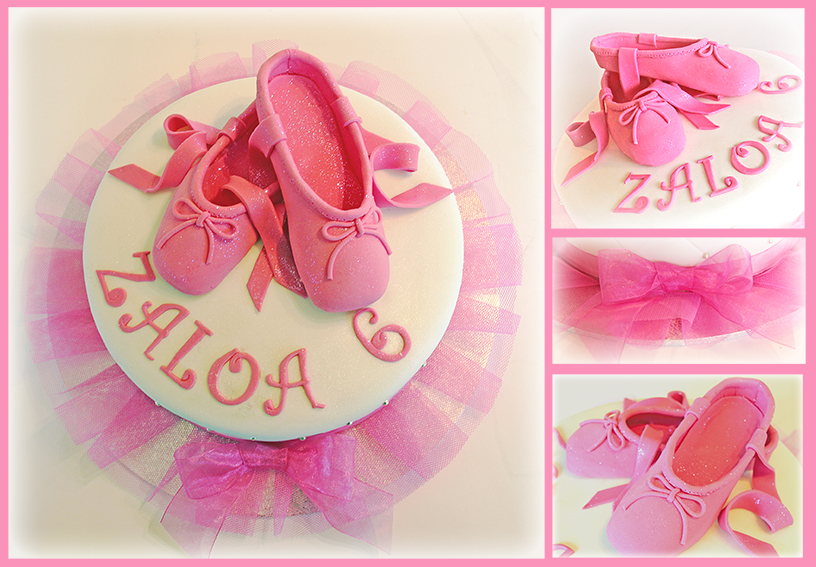 Ballerina Shoes Cake